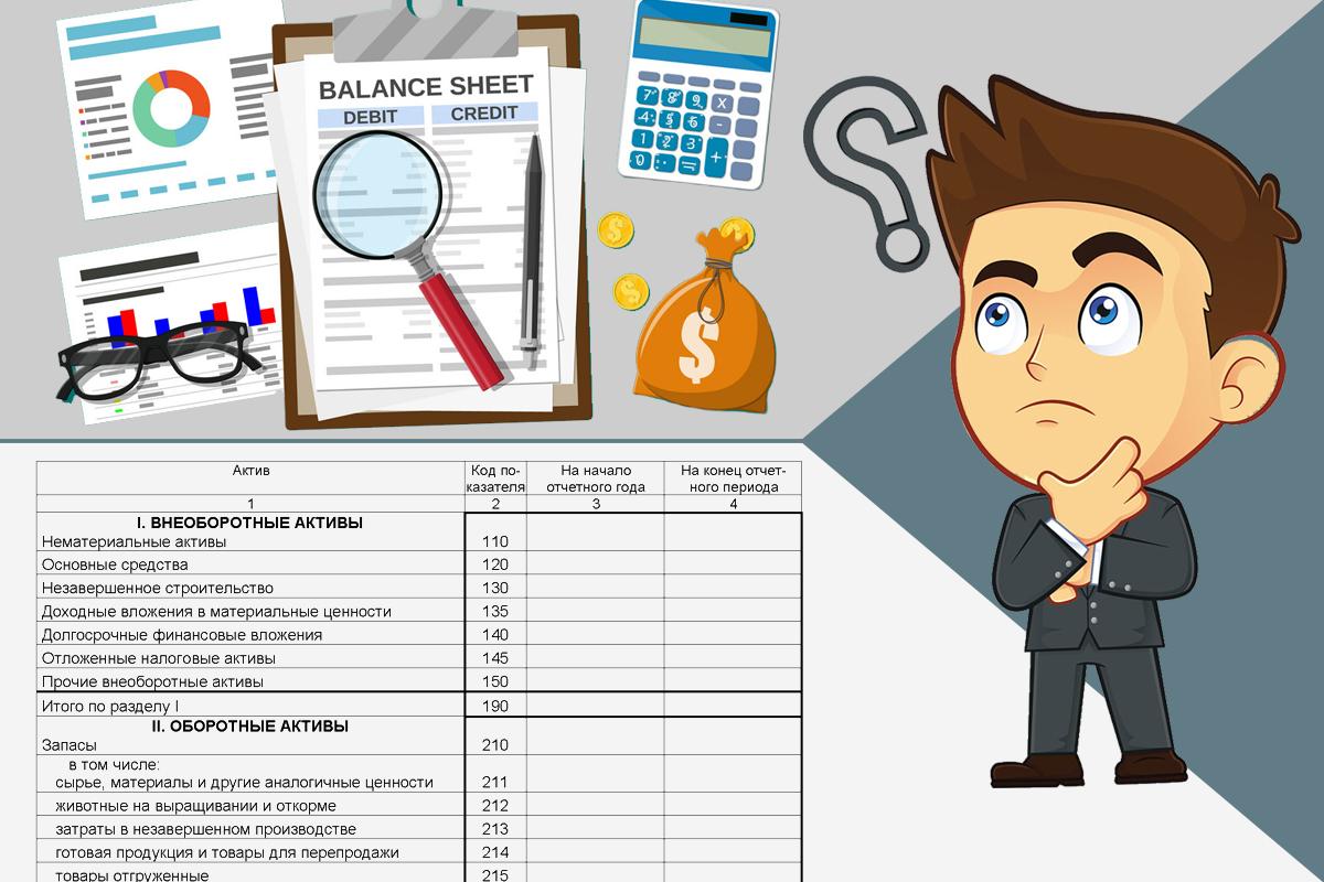 Бухгалтерский баланс для начинающих – простыми словами