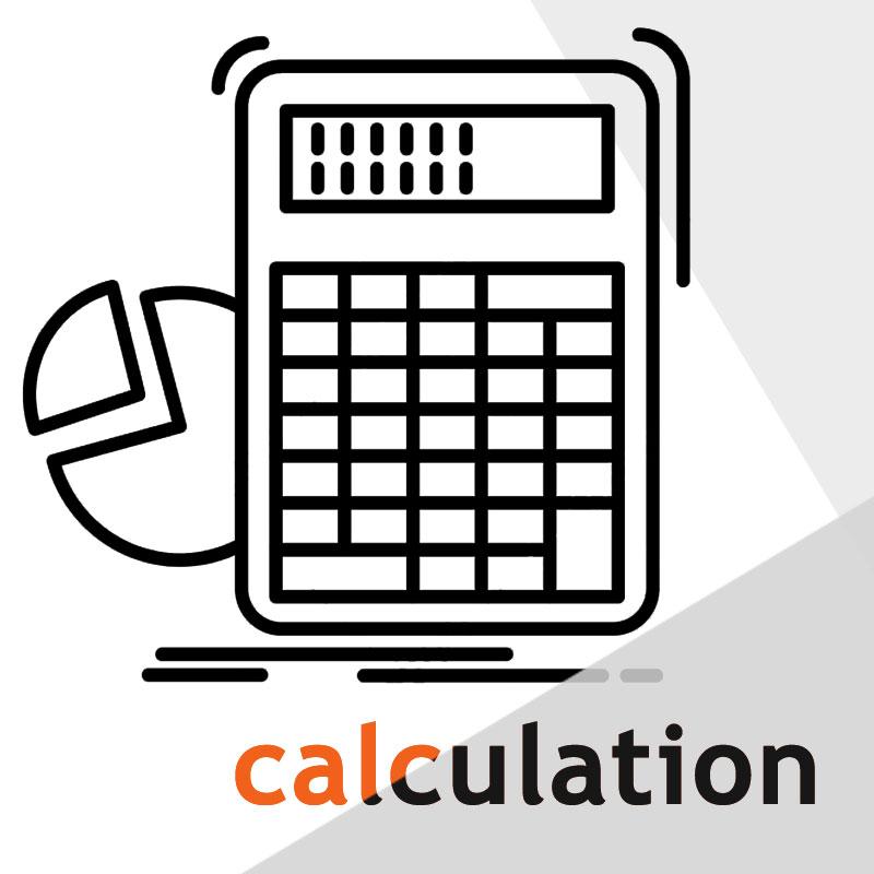 Онлайн расчёт показателя структуры - диаграмма