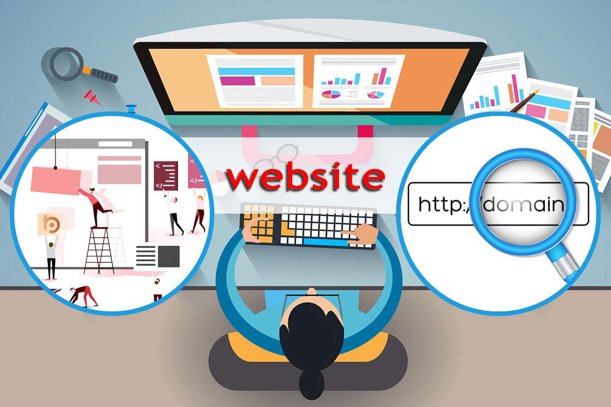 Доменное имя и веб-сайт – как всё связано